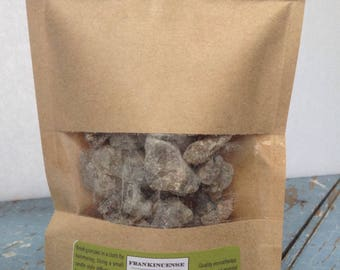 Frankincense Resin - Fair Trade - Perfect for Burning as Insence