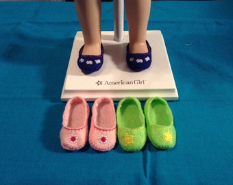 American Girl Wellie Wisher Inspired Doll Shoes/14.5 inch Doll Shoes/3 Pairs