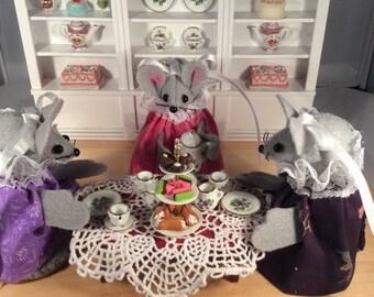Mice in a Tea Room!