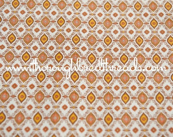 Atomic Geometric - Vintage Fabric New Old Stock Mid Century Modern Stylized 36 inches wide