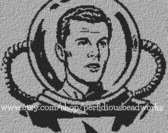 PATTERN: Space Patrol Commander Buzz Corry Cross Stitch Chart
