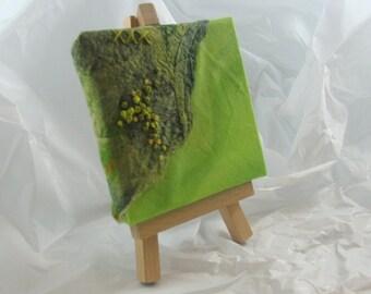 Mini Fibre Art Silk Fusion Art