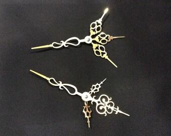Clock Hand Hairpicks Decorative