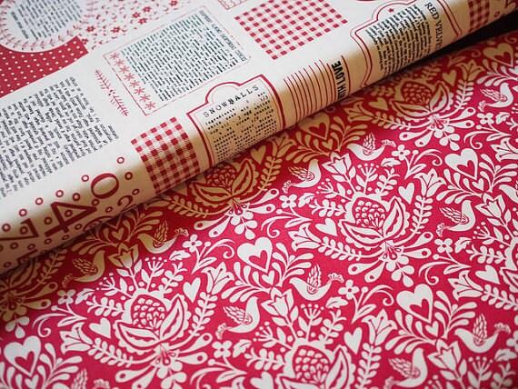 Christmas Fabric Bundle 4 x 0.5m