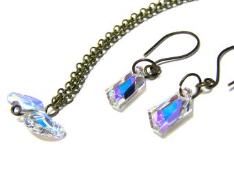 Swarovski Crystal Jewelry Set Gifts for Women Bohemian Jewelry Top Selling Jewelry