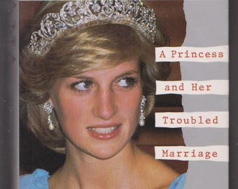 Diana: A Princess and Her Troubled Marriage~First Edition~HCDJ~Nicholas Davies