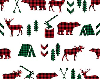 "Shop ""buffalo plaid fabric"" in Craft Supplies & Tools"