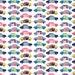 Retro Racecar Fabric - Toy Cars By Demigoutte - Vintage Colorful Kids Cotton Fabric By The Yard With Spoonflower