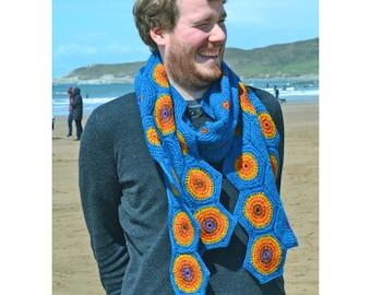 Geminids Crochet Scarf PDF Pattern