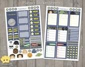 Star Wars Planner Sticker Sheets