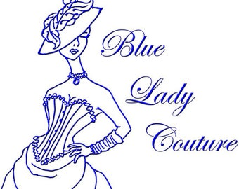 Express USA Shipping 3-5 Days for Blue Lady Couture