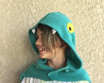 Eel Cape, Electric Eel Cape, Halloween Costume or Dress Up Cape