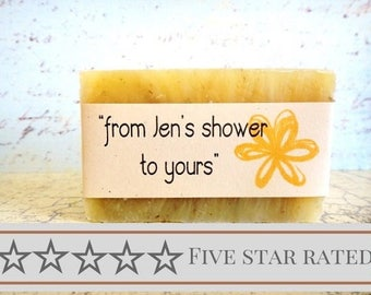 Bridal Shower Favors , Wedding Shower, Personalized Bridal Shower Label, Label, Wedding Favors, Flower Label