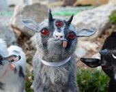 Bub, Baby Demon Goat - OOAK Art Doll