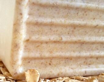 PEANUT BUTTER COOKIE Handmade Soap Bar Triple Butter 6.5 oz Free Shipping, Shea Butter Soap, Mango Butter, Cocoa Butter, Food Soap