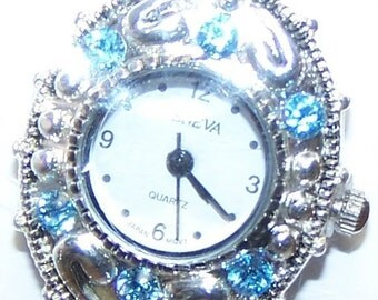 CLEARANCE - Crystal Encrusted Watch Face