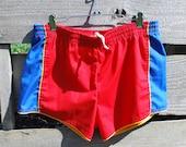 Vintage Men's Swim Shorts Small Swim Trunks