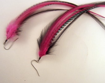 Feather Earrings Calypso feaver