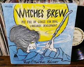 Witche's Brew Vintage Vinyl Record