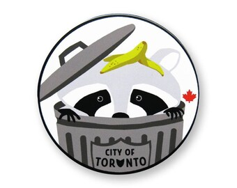 Toronto Raccoon Sticker