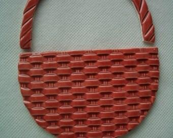 TAP - RED BASKET Set - Ceramic Mosaic Tiles