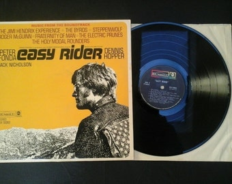 Easy Rider Soundtrack LP Jack Nicholson Dennis Hopper Peter Fonda 1960's