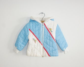 Vintage Blue and White Jacket