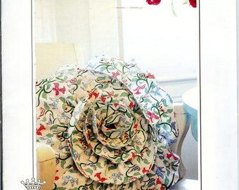 Sale!  Rosette Pillow pattern (119RP) - Amoretti by Me