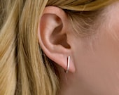 J Stud Earrings (available in gold or silver)