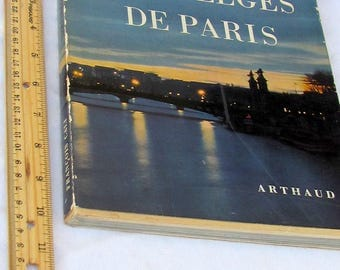 Sortileges De Paris, French Photography book by Francois Cali and Claude Arthaud
