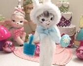 """Vintage Inspired Easter SuGaR SwEeT Spring Keepsake Bunny """"Peter"""""""