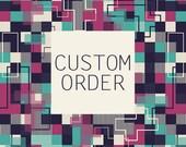 Custom order for 'Sender: Angharad Jones'