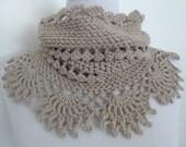 Crochet Cowl Pattern: Landscape Cowl