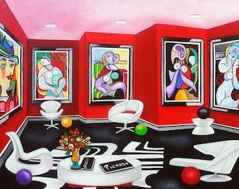 Pablo Picasso, Picasso Print, Picasso Art, Picasso Art, Wall Art Prints, Fine Art Prints, Home Decor, Art Print, Prints