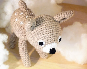 Crocheted deer