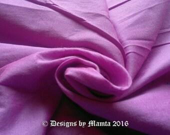 Fuchsia Pink Dupioni Silk Fabric, Bridesmaid Fabric, Indian Silk Fabric, Solid Pink Fabric, Jewelry Making Fabric, Unique Designer Fabrics