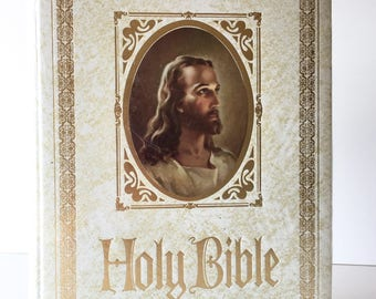 Regency Classic Family Bible Thomas Nelson Holy Bible New Sealed Vintage