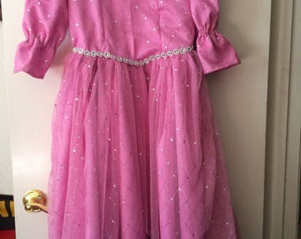 Pink princess dress size 6