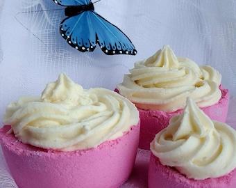 Bath Bomb - Pink Mini-Cake