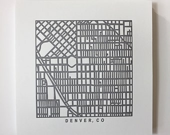 Denver pressed prints
