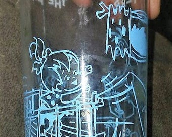 Vintage Flintstones Jelly Jar Glass
