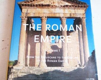 SALE Vintage 1996 The Roman Empire Vol 1 by Henri Stierlin Coffee Table Book