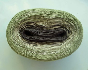 HEDGEHOG II - Color Changing Cotton yarn - 480 yards/100 gr - Fingering Weight