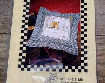Chessie and Me Cross Stitch Pattern Daily Labors