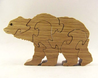Walking Bear Puzzle