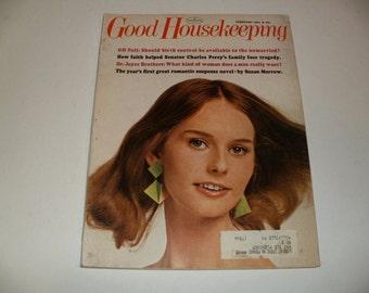 Vintage Good Housekeeping Magazine February 1967 - Art, Scrapbooking, Retro Vintage Ads