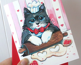 I Knead Your Love Greeting Card