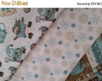 Fun Snowman Fabrics -- HARD Find--Buyers Choice -- 40-70% off Patterns n Books SALE