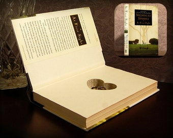 Hollow Book Safe with Heart (At First Sight)
