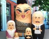 Female Trouble Matryoshka Dolls (READY TO SHIP!)